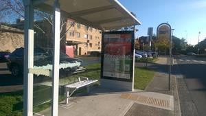DDA Compliant Bus Stop