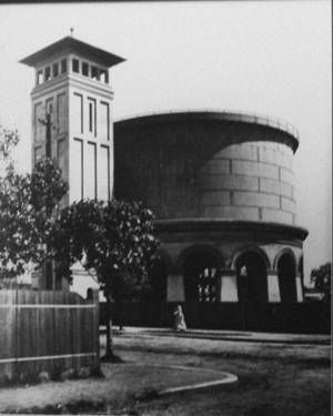 Historical photo of Drummoyne Reservoir and Tower