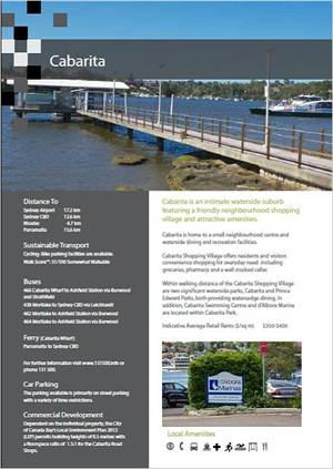 Cabarita Place Fact Sheet