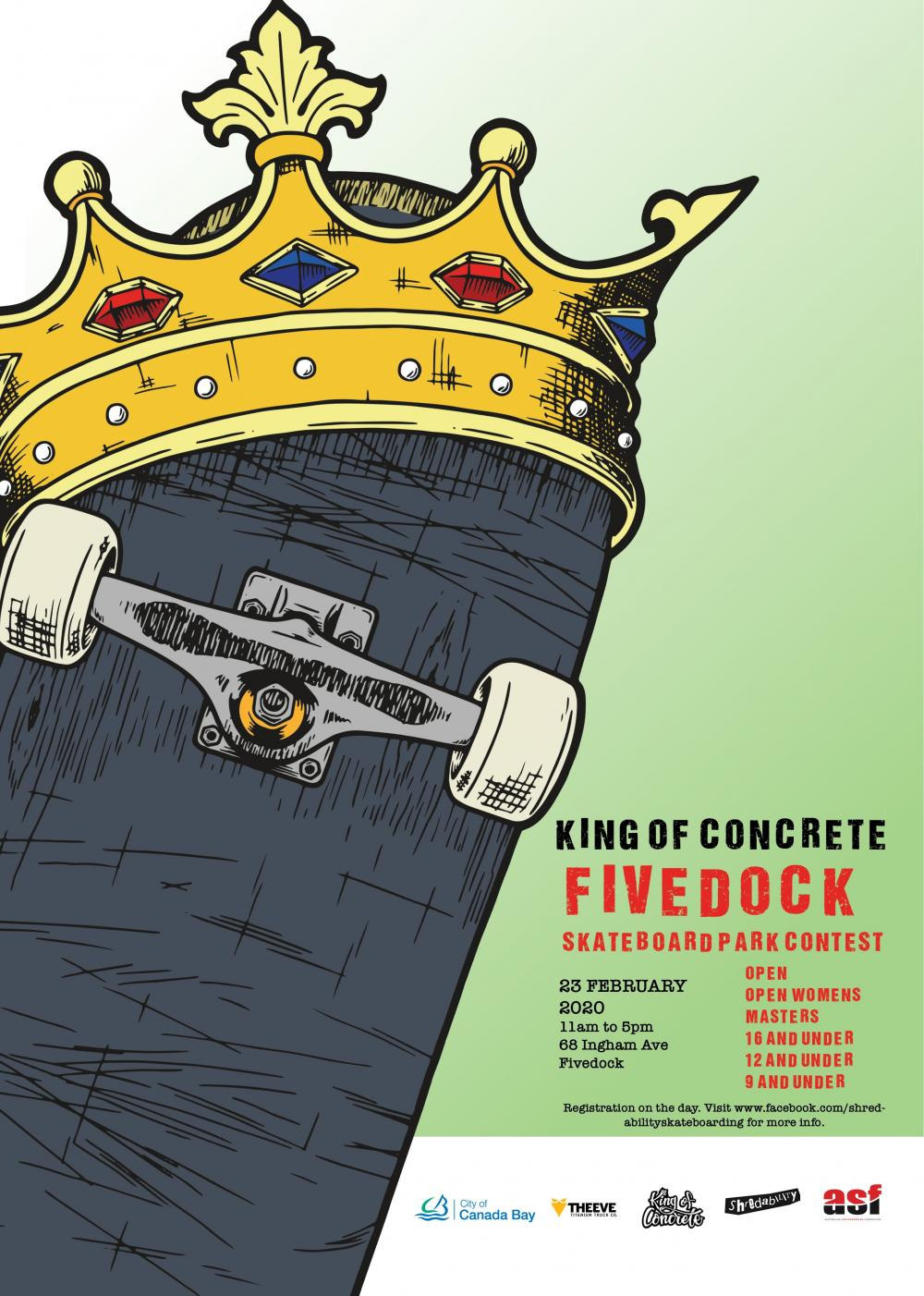 King of Concrete Skateboard Contest