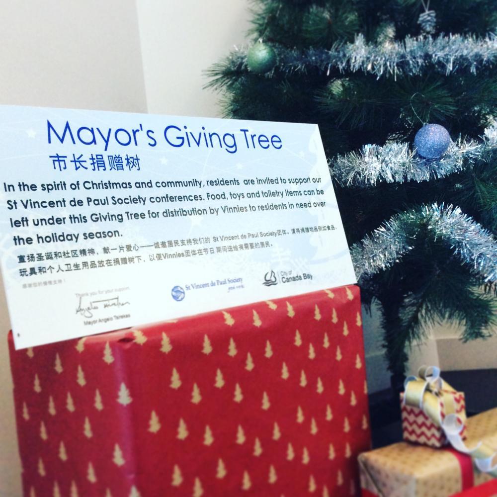 Mayor's Giving Tree 2020