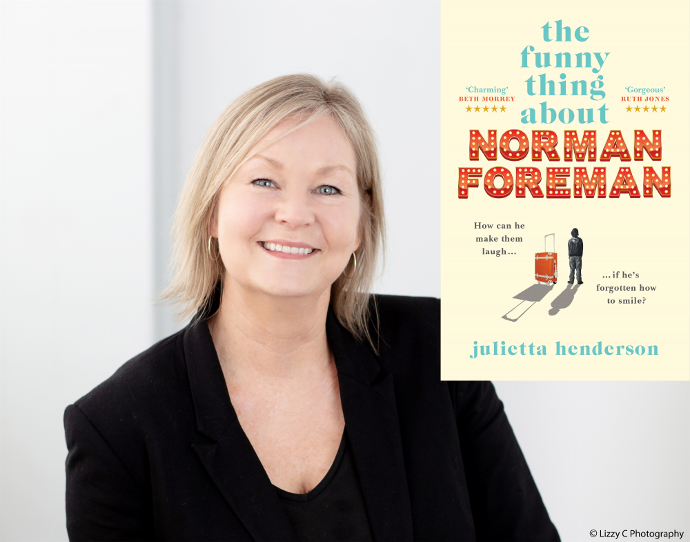 Virtual author talk: Julietta Henderson