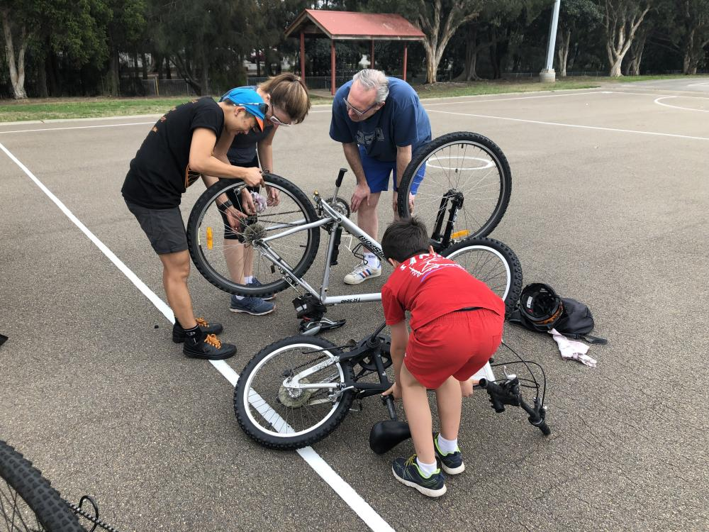 On Yer Bike — learning to bike ride