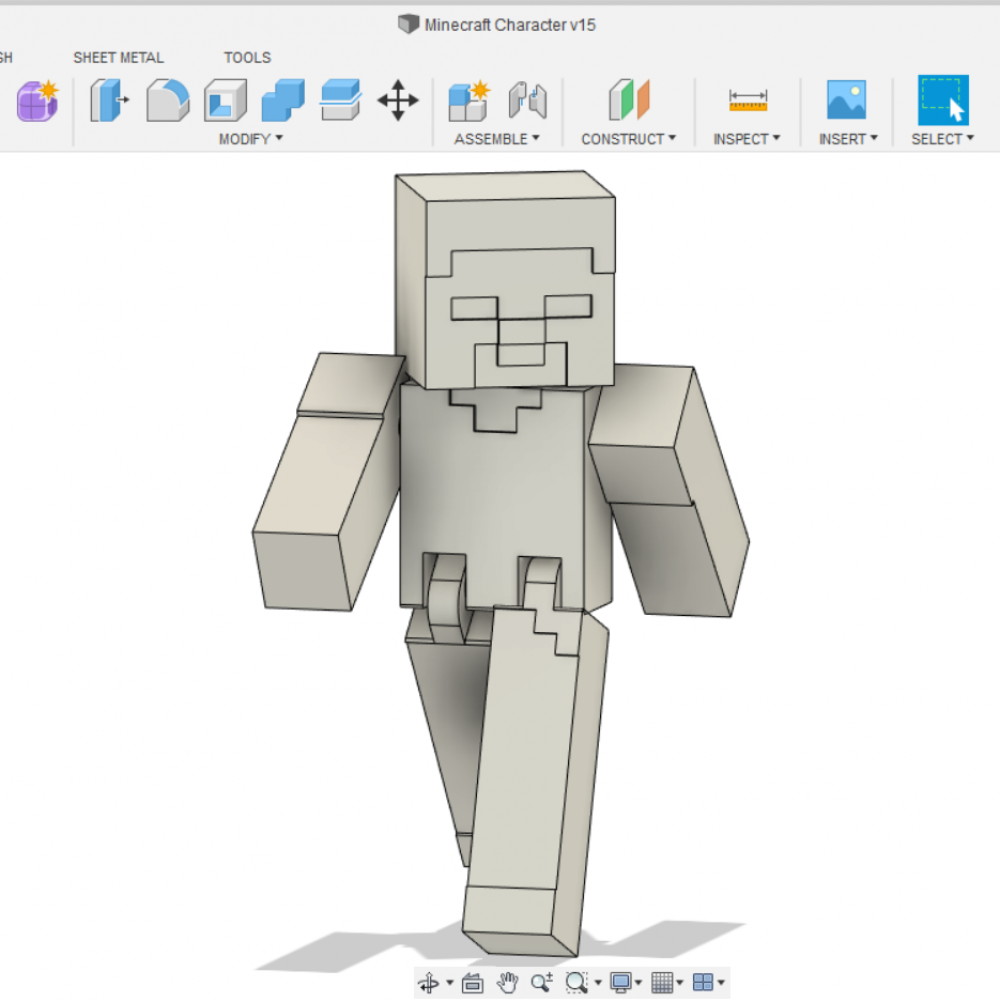 Spawning Steve: Learn How to 3D Print a Minecraft Skin