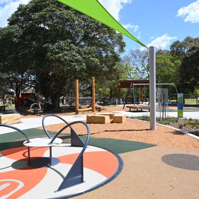 $2 million for new and renewed local parks