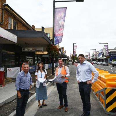 Breaking ground on Great North Road upgrade stage two