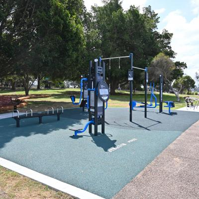New fitness equipment for Bayview Park