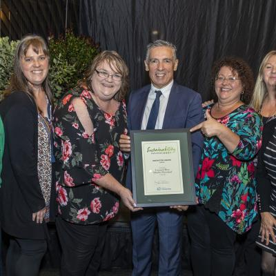 Leaders in sustainability rewarded