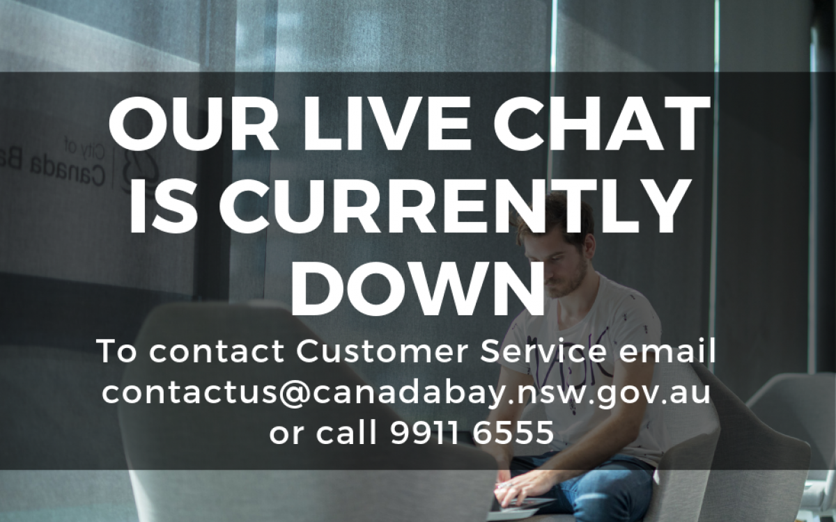 Live chat is down