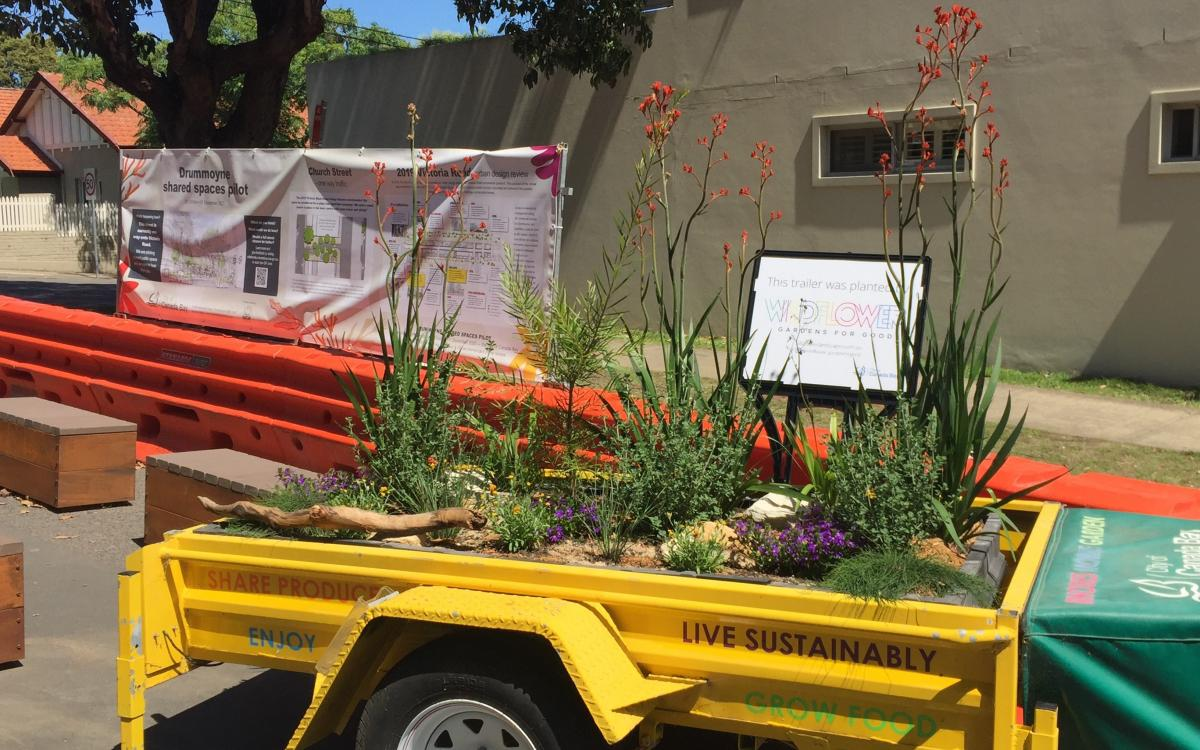 Drummoyne shared spaces pilot