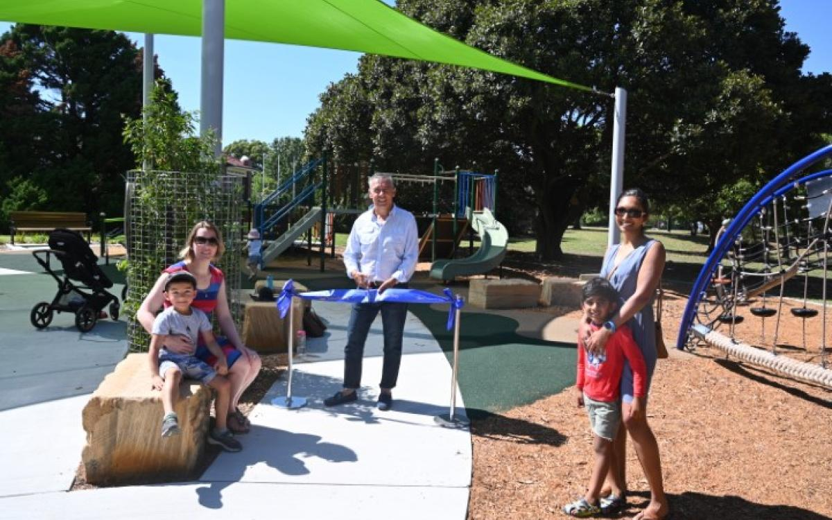 New playground for Five Dock Park