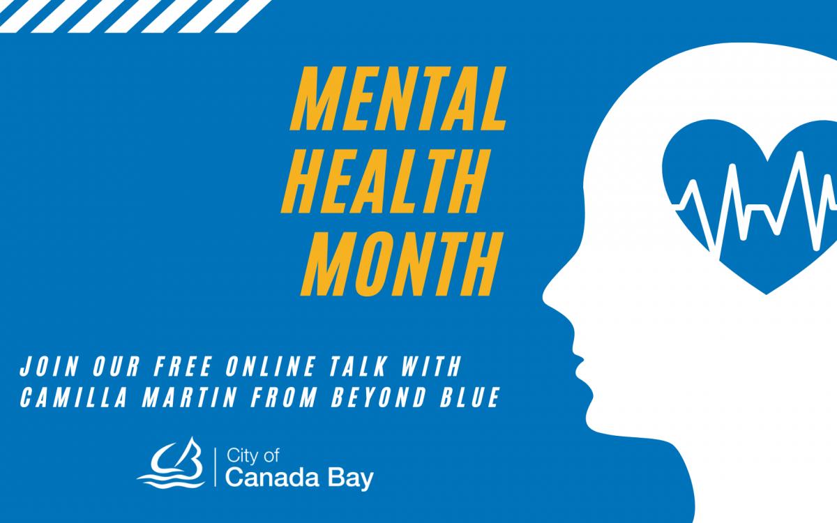 Mental Health Month free virtual talk